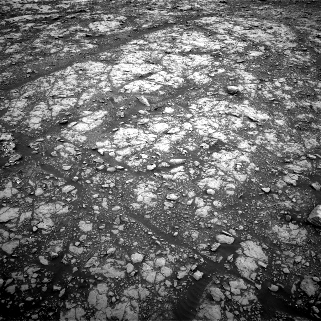 Nasa's Mars rover Curiosity acquired this image using its Right Navigation Camera on Sol 2107, at drive 2740, site number 71