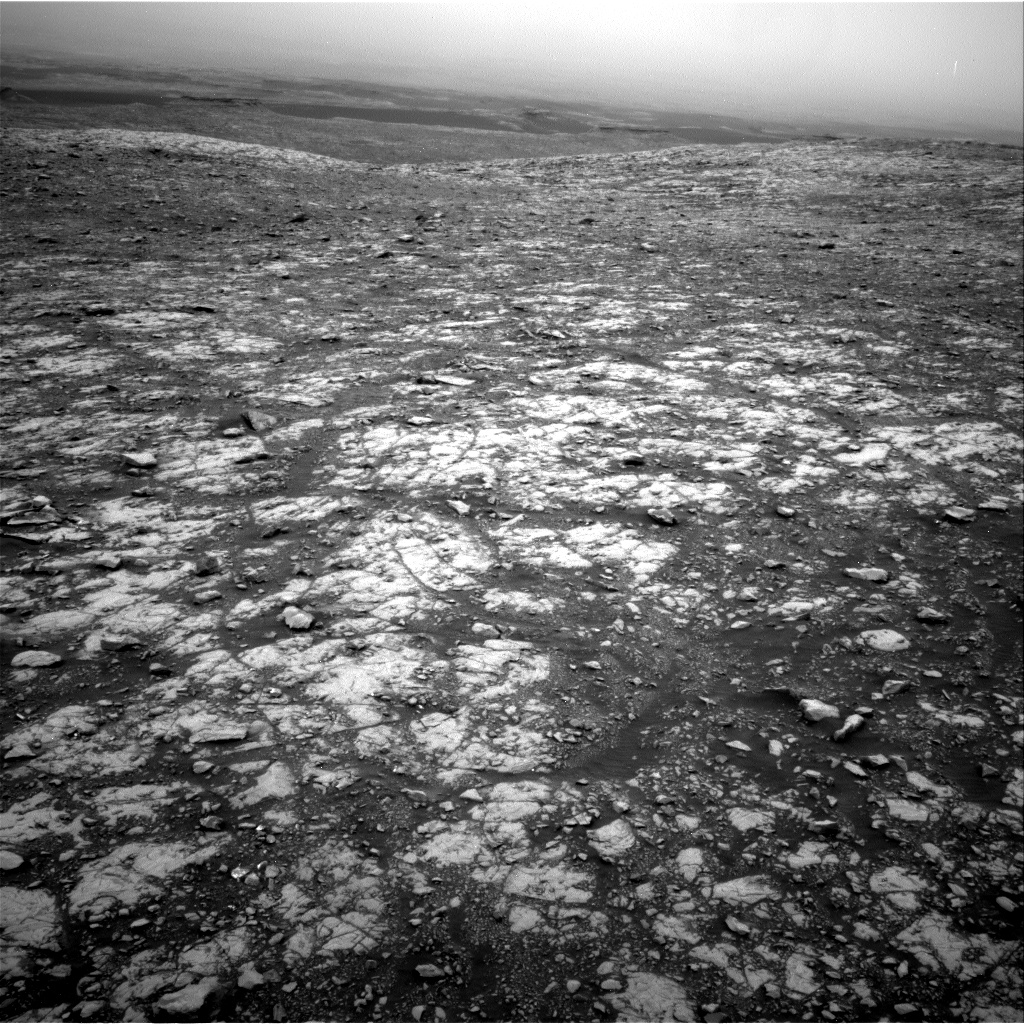 Nasa's Mars rover Curiosity acquired this image using its Right Navigation Camera on Sol 2107, at drive 2804, site number 71