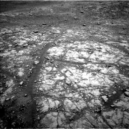 Nasa's Mars rover Curiosity acquired this image using its Left Navigation Camera on Sol 2108, at drive 2810, site number 71