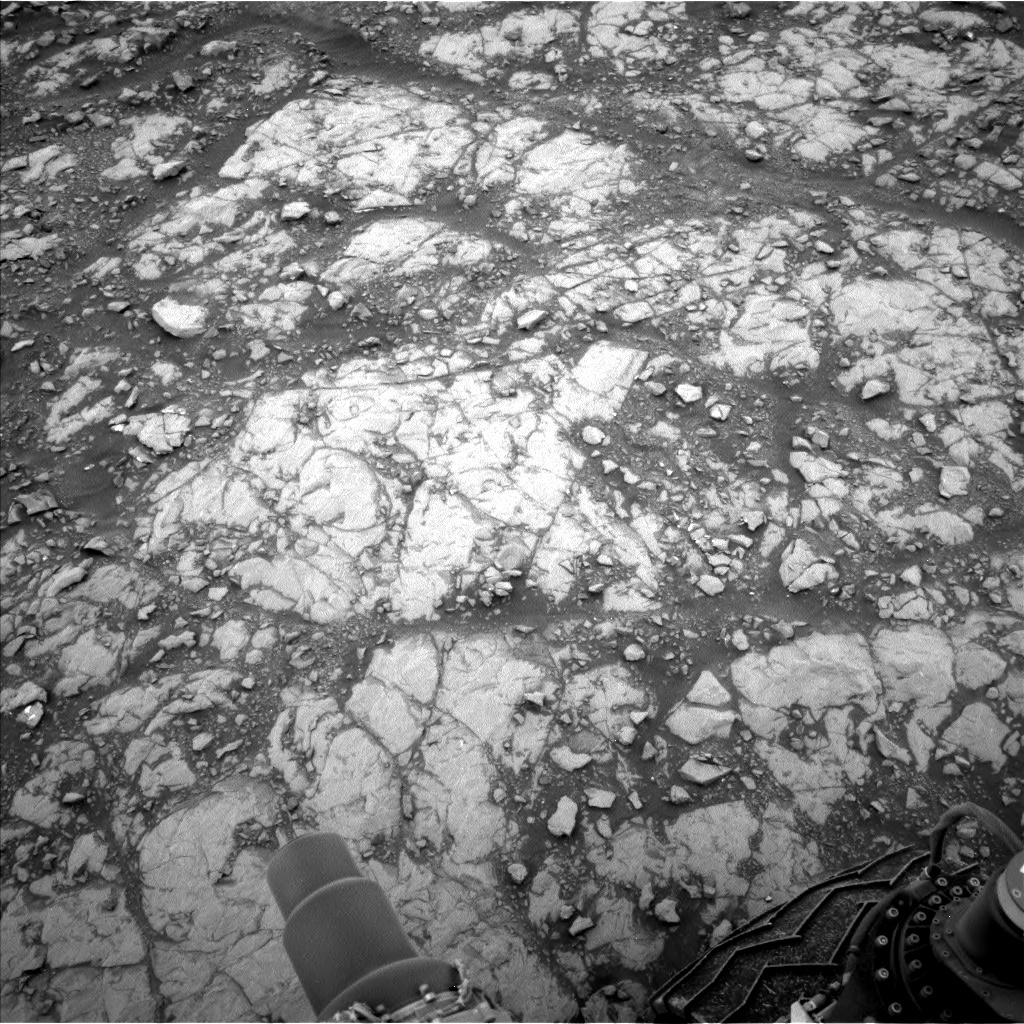 Nasa's Mars rover Curiosity acquired this image using its Left Navigation Camera on Sol 2108, at drive 2876, site number 71