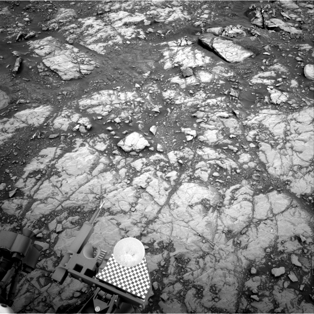 Nasa's Mars rover Curiosity acquired this image using its Right Navigation Camera on Sol 2108, at drive 2876, site number 71