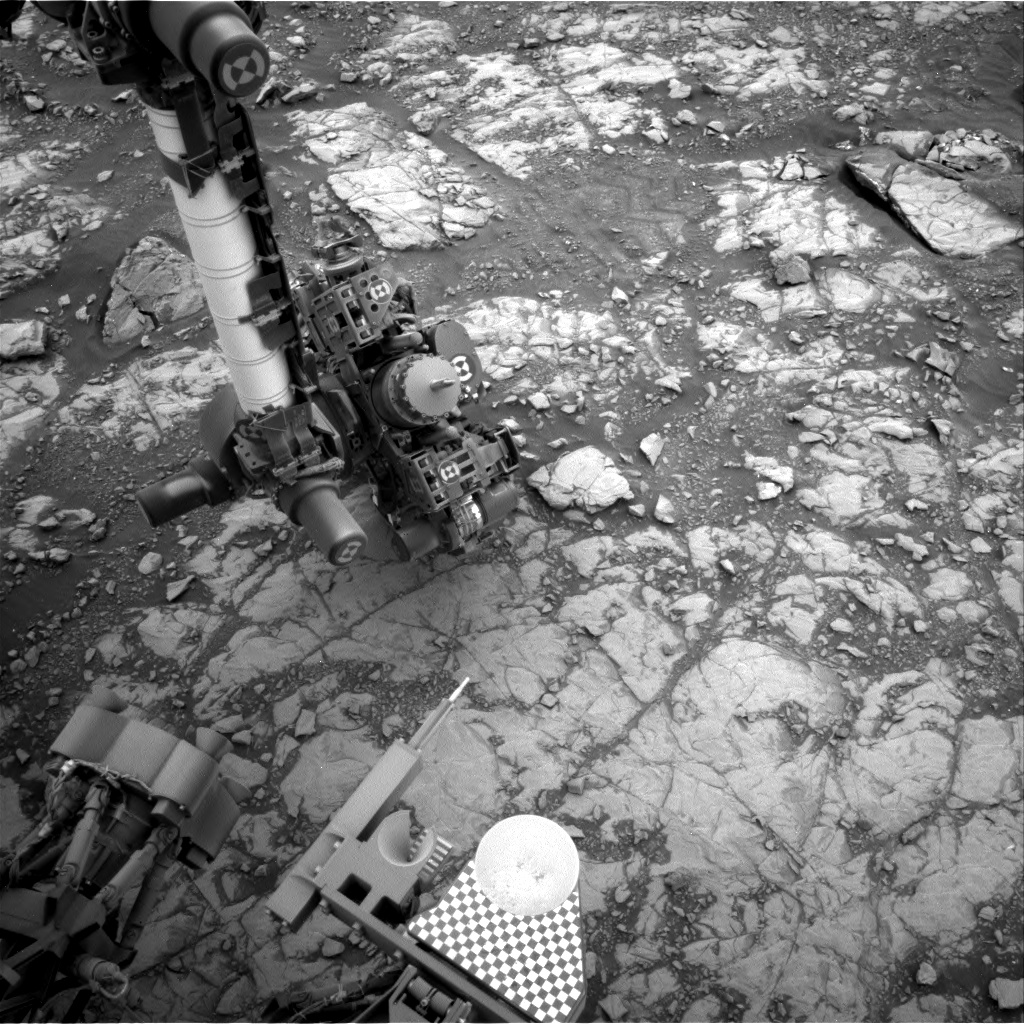 Nasa's Mars rover Curiosity acquired this image using its Right Navigation Camera on Sol 2109, at drive 2876, site number 71