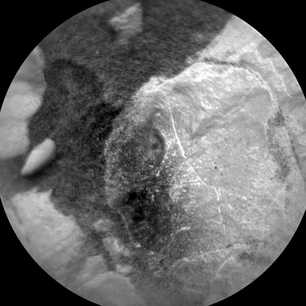 Nasa's Mars rover Curiosity acquired this image using its Chemistry & Camera (ChemCam) on Sol 2110, at drive 2876, site number 71