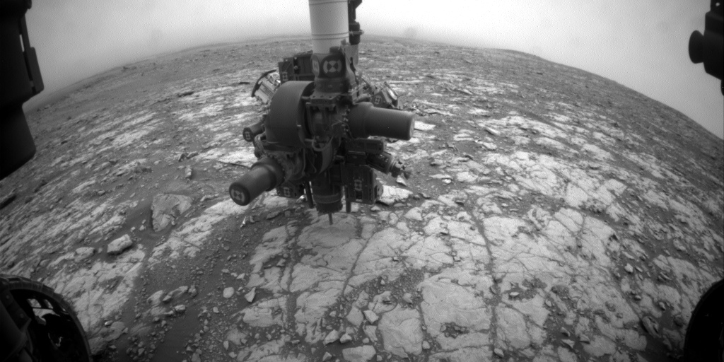 Sol 2112 Front Hazcam drill