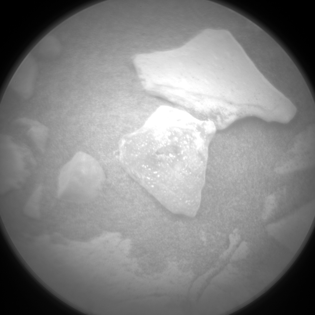 Nasa's Mars rover Curiosity acquired this image using its Chemistry & Camera (ChemCam) on Sol 2113, at drive 2876, site number 71