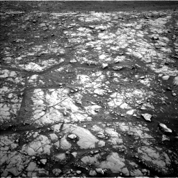 Nasa's Mars rover Curiosity acquired this image using its Left Navigation Camera on Sol 2115, at drive 2912, site number 71
