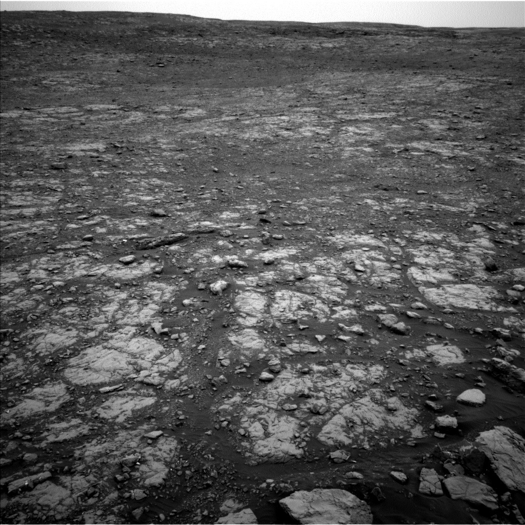NASA's Mars rover Curiosity acquired this image using its Left Navigation Camera (Navcams) on Sol 2115
