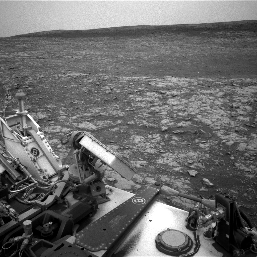 Nasa's Mars rover Curiosity acquired this image using its Left Navigation Camera on Sol 2115, at drive 2956, site number 71
