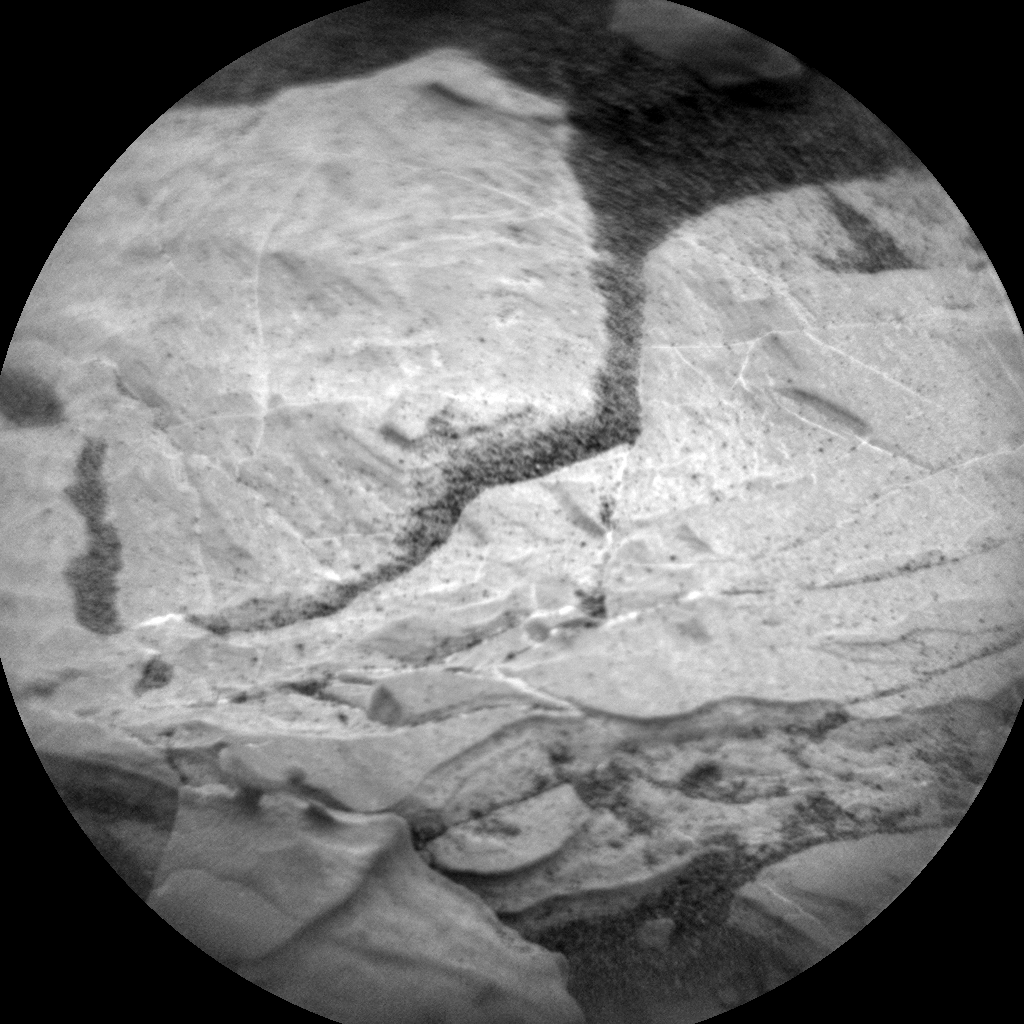 Nasa's Mars rover Curiosity acquired this image using its Chemistry & Camera (ChemCam) on Sol 2115, at drive 2956, site number 71