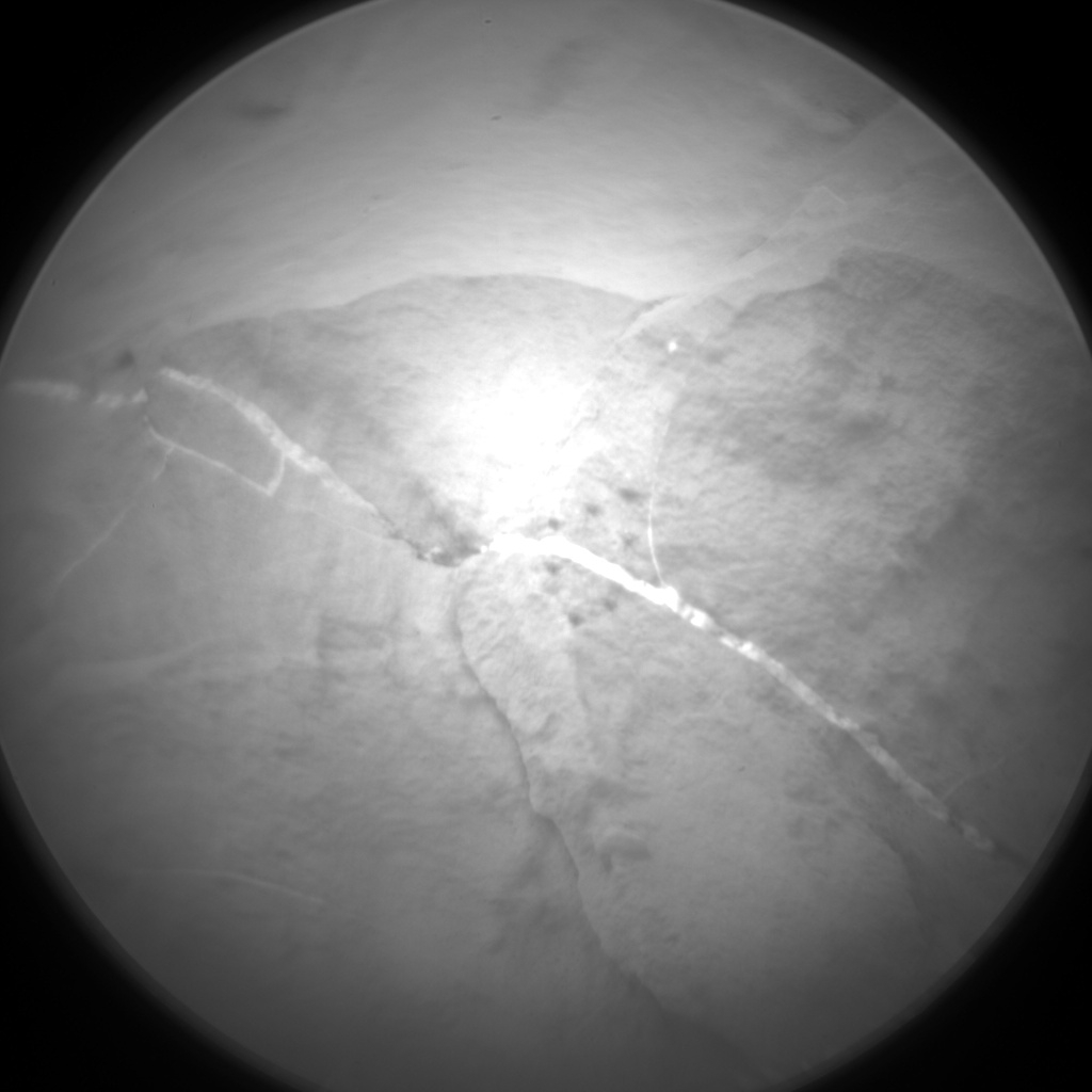 Nasa's Mars rover Curiosity acquired this image using its Chemistry & Camera (ChemCam) on Sol 2116, at drive 0, site number 72