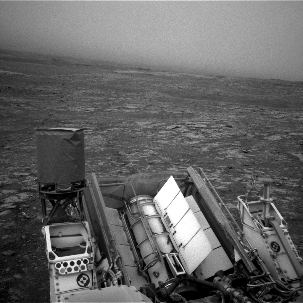 Nasa's Mars rover Curiosity acquired this image using its Left Navigation Camera on Sol 2116, at drive 0, site number 72