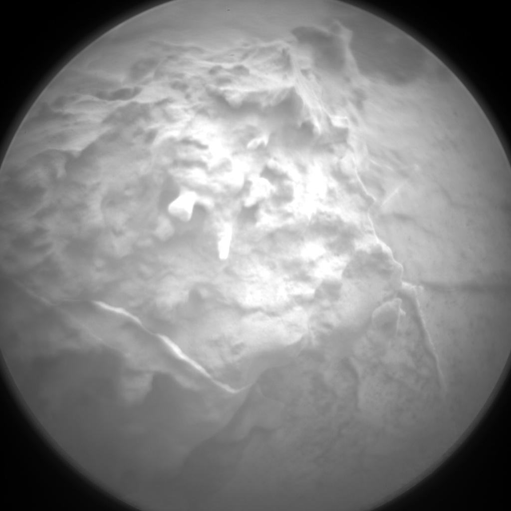 Nasa's Mars rover Curiosity acquired this image using its Chemistry & Camera (ChemCam) on Sol 2117, at drive 0, site number 72