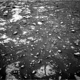 Nasa's Mars rover Curiosity acquired this image using its Left Navigation Camera on Sol 2119, at drive 54, site number 72
