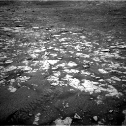 Nasa's Mars rover Curiosity acquired this image using its Left Navigation Camera on Sol 2119, at drive 144, site number 72