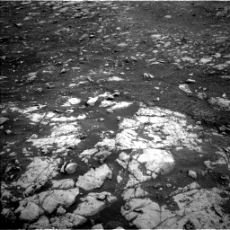 Nasa's Mars rover Curiosity acquired this image using its Left Navigation Camera on Sol 2119, at drive 198, site number 72