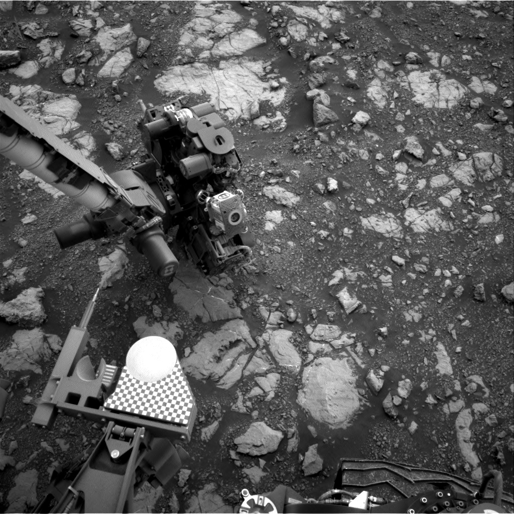 Nasa's Mars rover Curiosity acquired this image using its Right Navigation Camera on Sol 2119, at drive 0, site number 72
