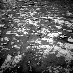 Nasa's Mars rover Curiosity acquired this image using its Right Navigation Camera on Sol 2119, at drive 120, site number 72