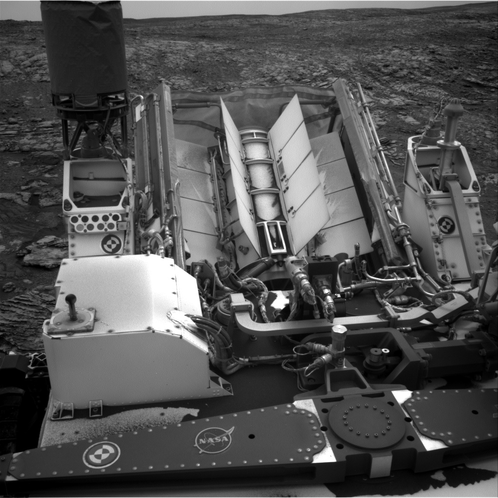 Nasa's Mars rover Curiosity acquired this image using its Right Navigation Camera on Sol 2119, at drive 202, site number 72