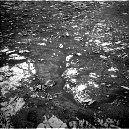 Nasa's Mars rover Curiosity acquired this image using its Left Navigation Camera on Sol 2120, at drive 238, site number 72