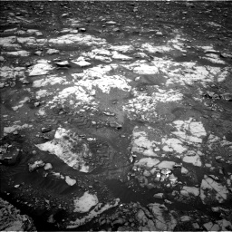 Nasa's Mars rover Curiosity acquired this image using its Left Navigation Camera on Sol 2120, at drive 274, site number 72