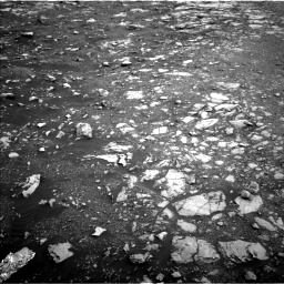 Nasa's Mars rover Curiosity acquired this image using its Left Navigation Camera on Sol 2120, at drive 334, site number 72