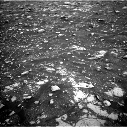 Nasa's Mars rover Curiosity acquired this image using its Left Navigation Camera on Sol 2120, at drive 364, site number 72