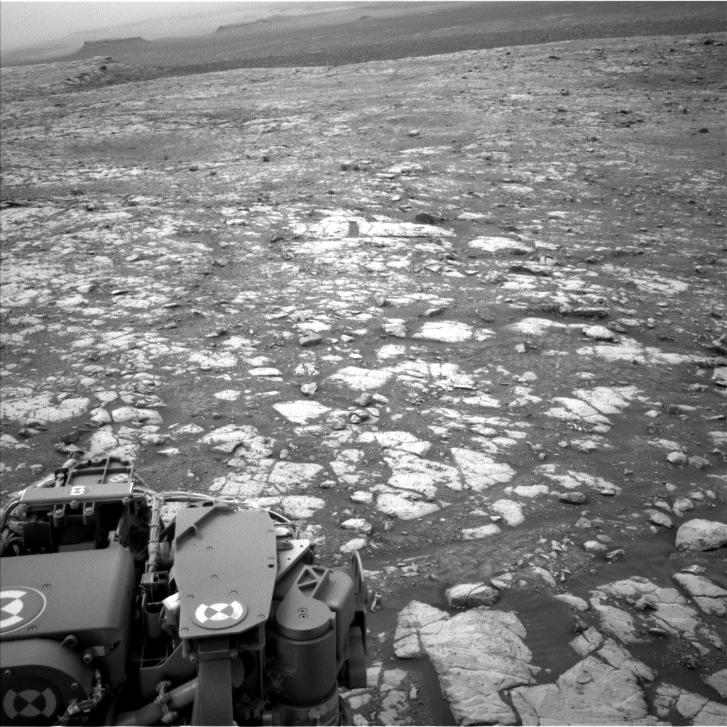 Nasa's Mars rover Curiosity acquired this image using its Left Navigation Camera on Sol 2120, at drive 386, site number 72