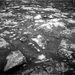 Nasa's Mars rover Curiosity acquired this image using its Right Navigation Camera on Sol 2120, at drive 280, site number 72