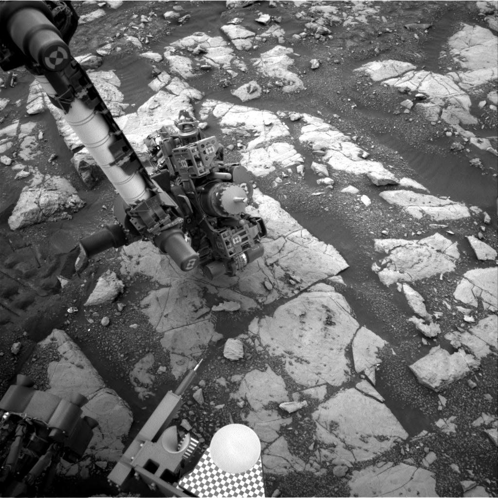 Nasa's Mars rover Curiosity acquired this image using its Right Navigation Camera on Sol 2121, at drive 386, site number 72