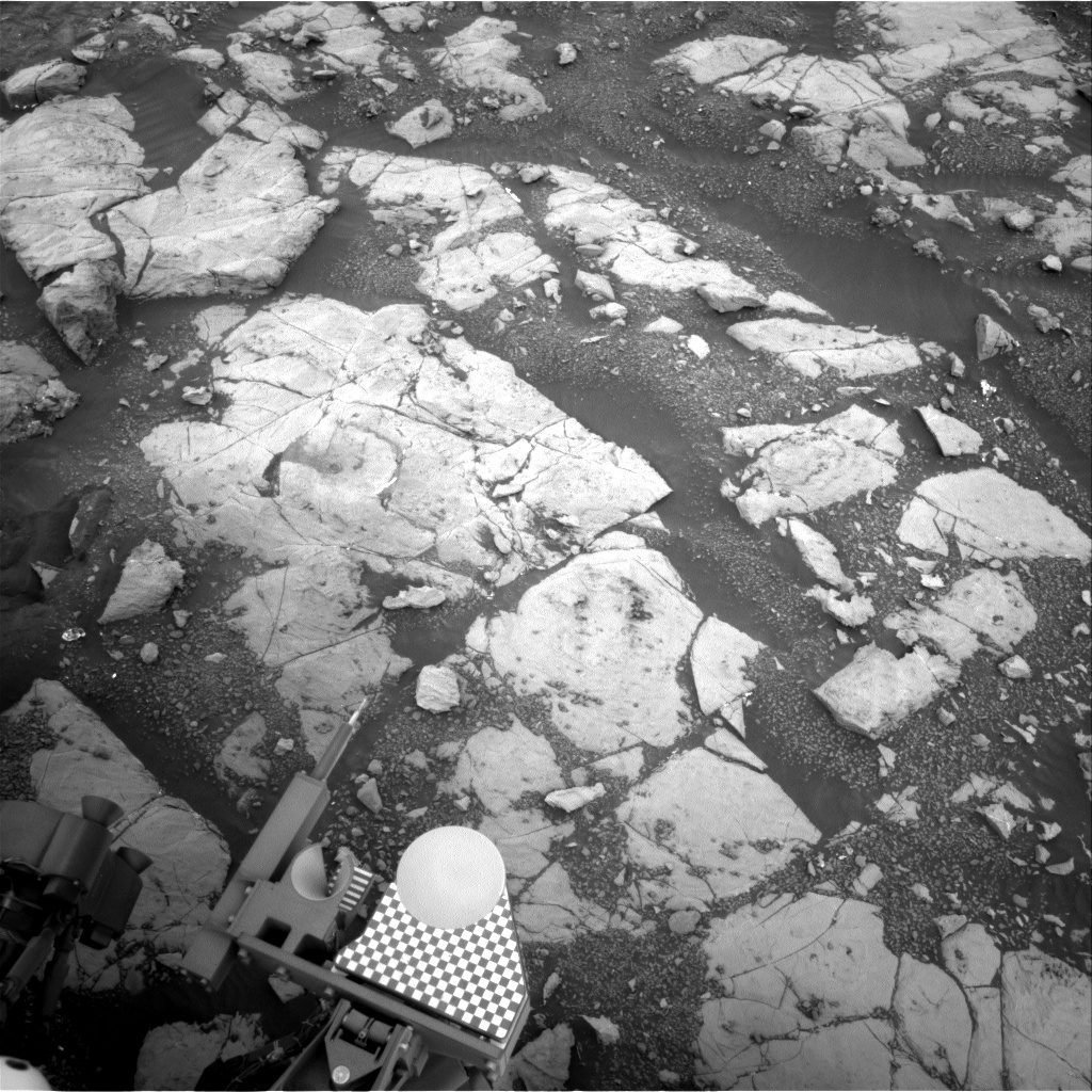 Nasa's Mars rover Curiosity acquired this image using its Right Navigation Camera on Sol 2123, at drive 386, site number 72