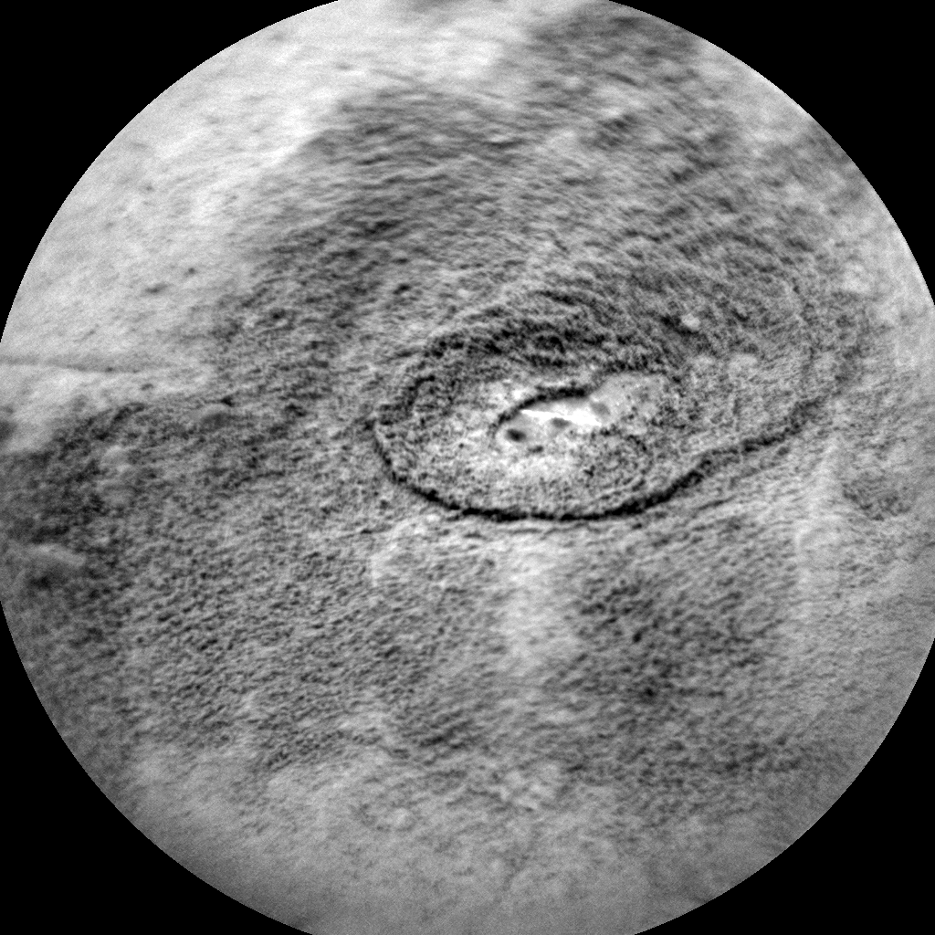 Nasa's Mars rover Curiosity acquired this image using its Chemistry & Camera (ChemCam) on Sol 2125, at drive 386, site number 72