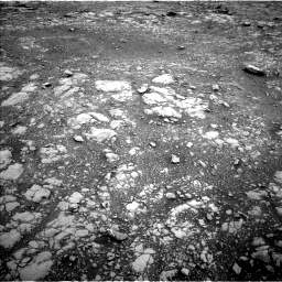 Nasa's Mars rover Curiosity acquired this image using its Left Navigation Camera on Sol 2126, at drive 548, site number 72