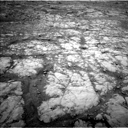 Nasa's Mars rover Curiosity acquired this image using its Left Navigation Camera on Sol 2126, at drive 674, site number 72