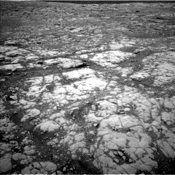 Nasa's Mars rover Curiosity acquired this image using its Left Navigation Camera on Sol 2126, at drive 710, site number 72