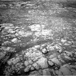 Nasa's Mars rover Curiosity acquired this image using its Left Navigation Camera on Sol 2126, at drive 824, site number 72