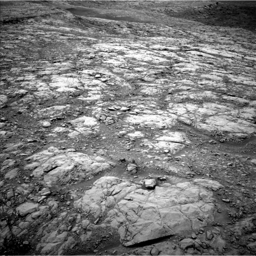 Nasa's Mars rover Curiosity acquired this image using its Left Navigation Camera on Sol 2126, at drive 884, site number 72