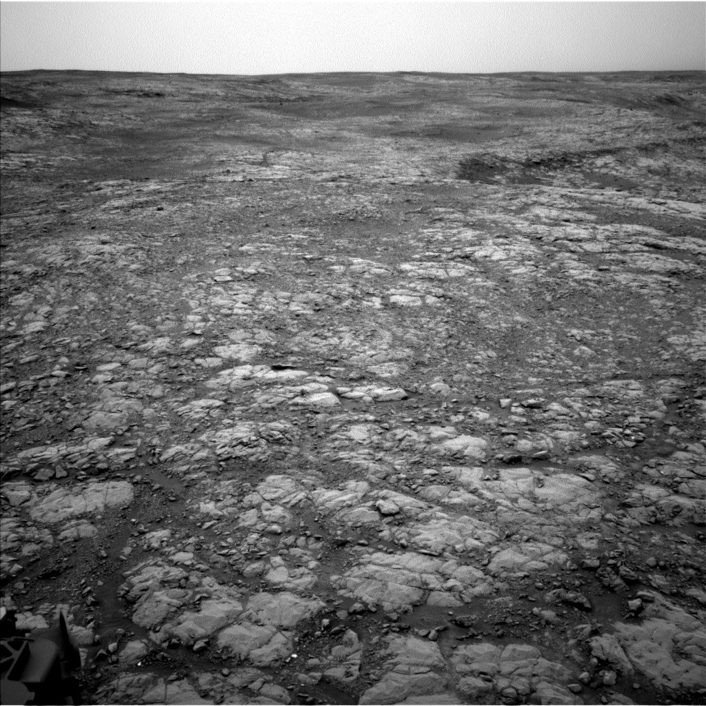 Nasa's Mars rover Curiosity acquired this image using its Left Navigation Camera on Sol 2126, at drive 920, site number 72