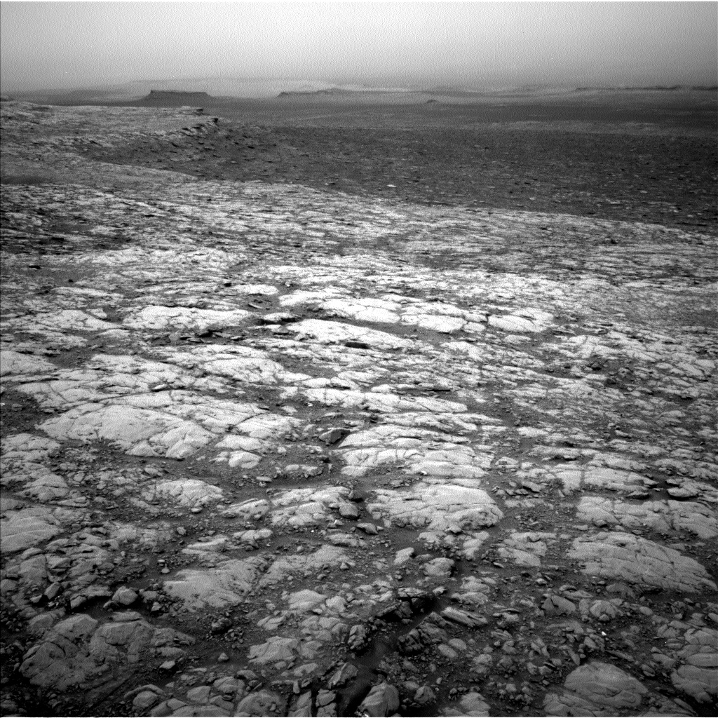 Sol 2128: In Search of Softer Rocks