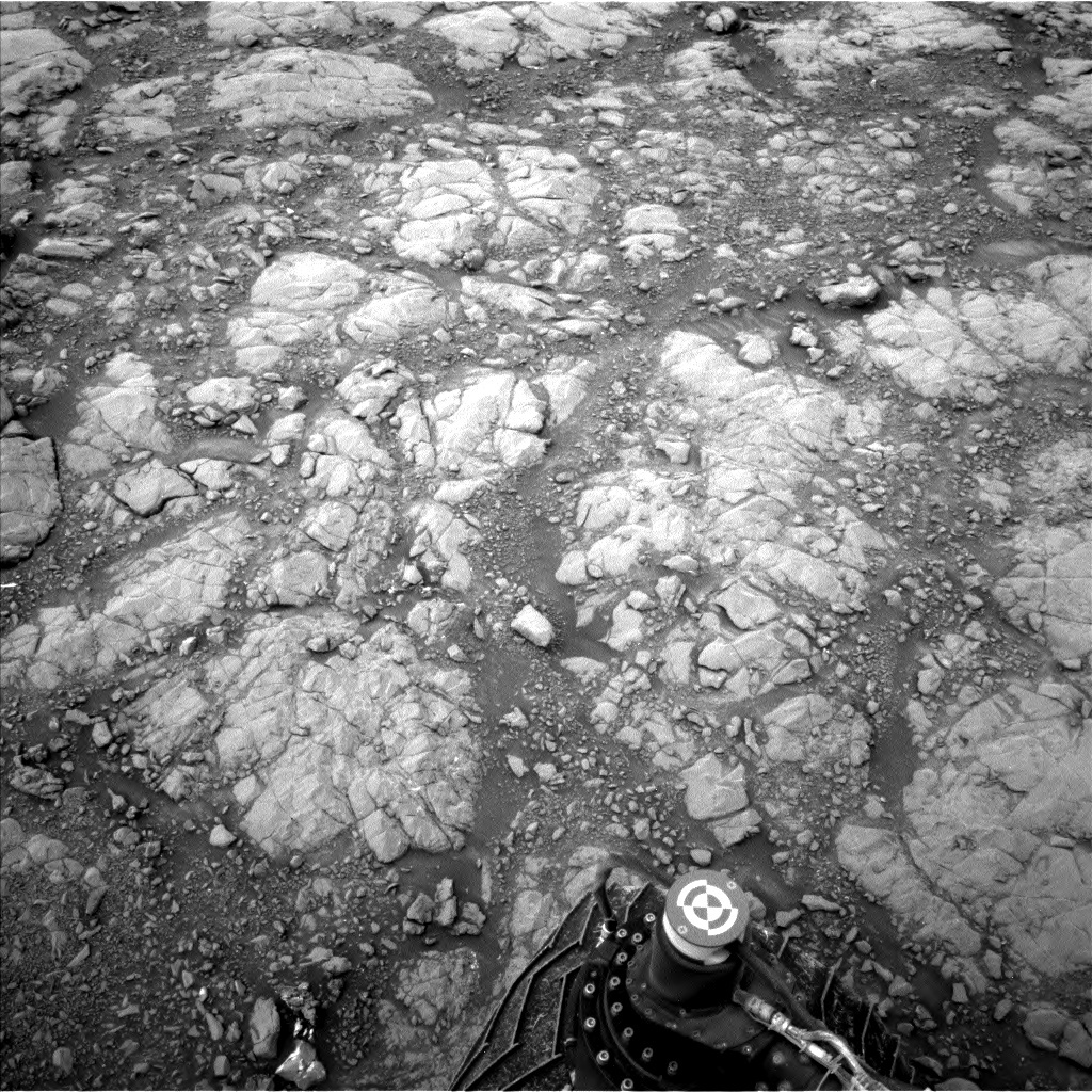 NASA's Mars rover Curiosity acquired this image using its Left Navigation Camera (Navcams) on Sol 2126