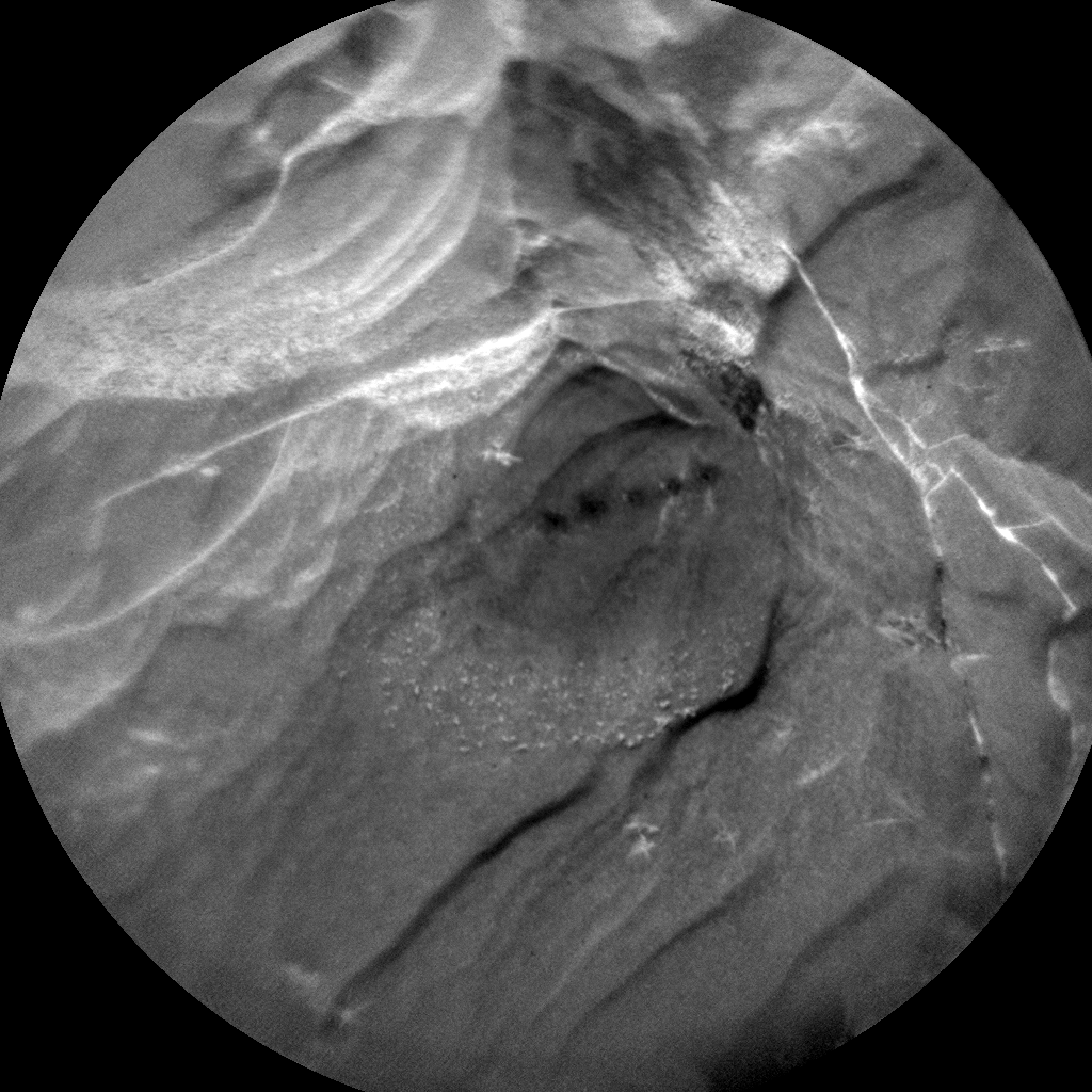 Nasa's Mars rover Curiosity acquired this image using its Chemistry & Camera (ChemCam) on Sol 2127, at drive 920, site number 72