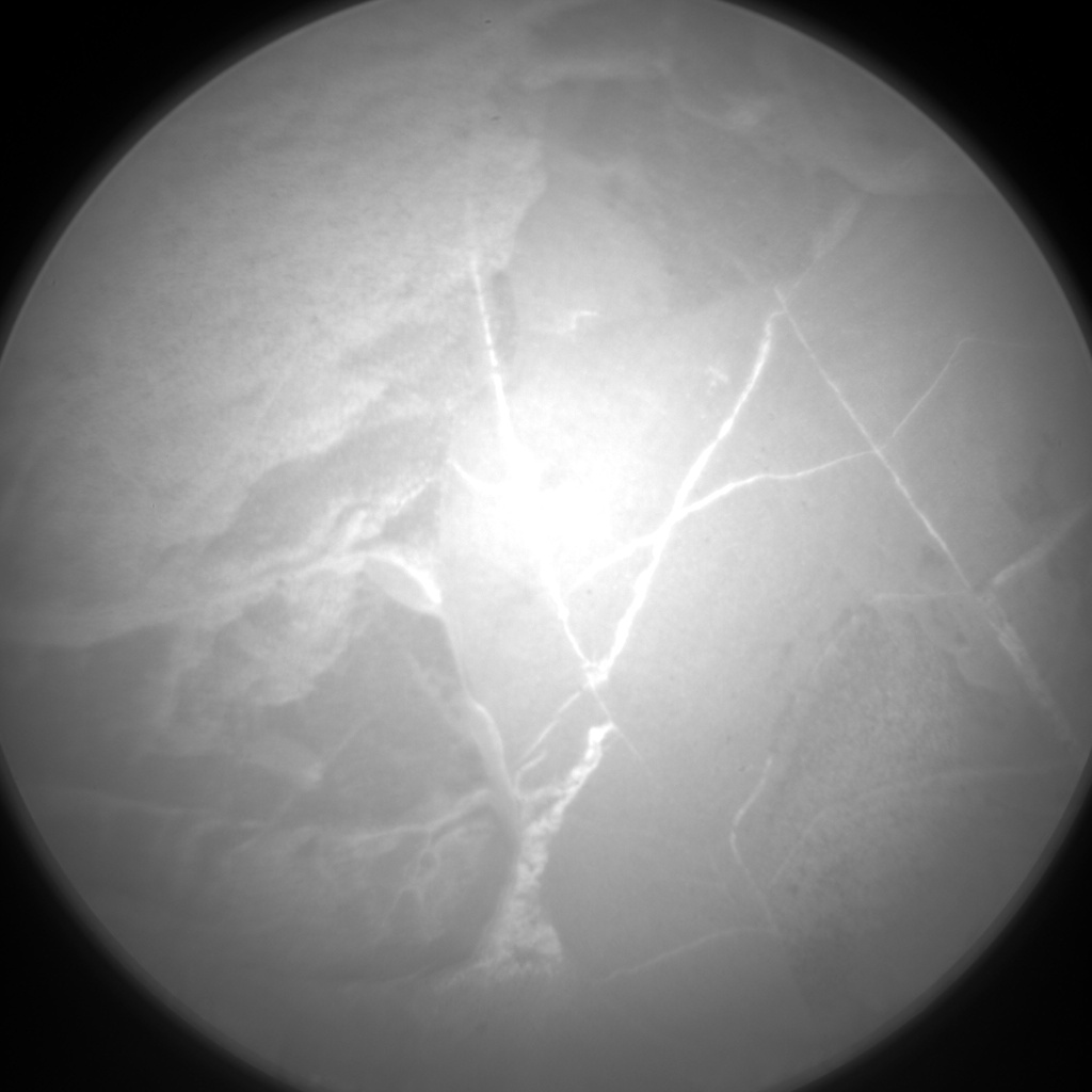 Nasa's Mars rover Curiosity acquired this image using its Chemistry & Camera (ChemCam) on Sol 2128, at drive 920, site number 72