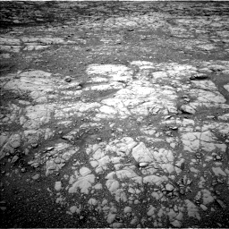 Nasa's Mars rover Curiosity acquired this image using its Left Navigation Camera on Sol 2128, at drive 1004, site number 72