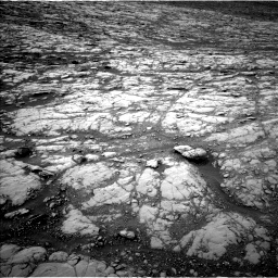 Nasa's Mars rover Curiosity acquired this image using its Left Navigation Camera on Sol 2128, at drive 1070, site number 72