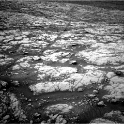 Nasa's Mars rover Curiosity acquired this image using its Left Navigation Camera on Sol 2128, at drive 1088, site number 72