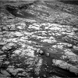 Nasa's Mars rover Curiosity acquired this image using its Left Navigation Camera on Sol 2128, at drive 1094, site number 72