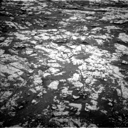 Nasa's Mars rover Curiosity acquired this image using its Left Navigation Camera on Sol 2128, at drive 1250, site number 72