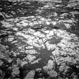 Nasa's Mars rover Curiosity acquired this image using its Left Navigation Camera on Sol 2128, at drive 1256, site number 72