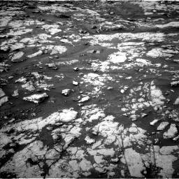 Nasa's Mars rover Curiosity acquired this image using its Left Navigation Camera on Sol 2128, at drive 1274, site number 72