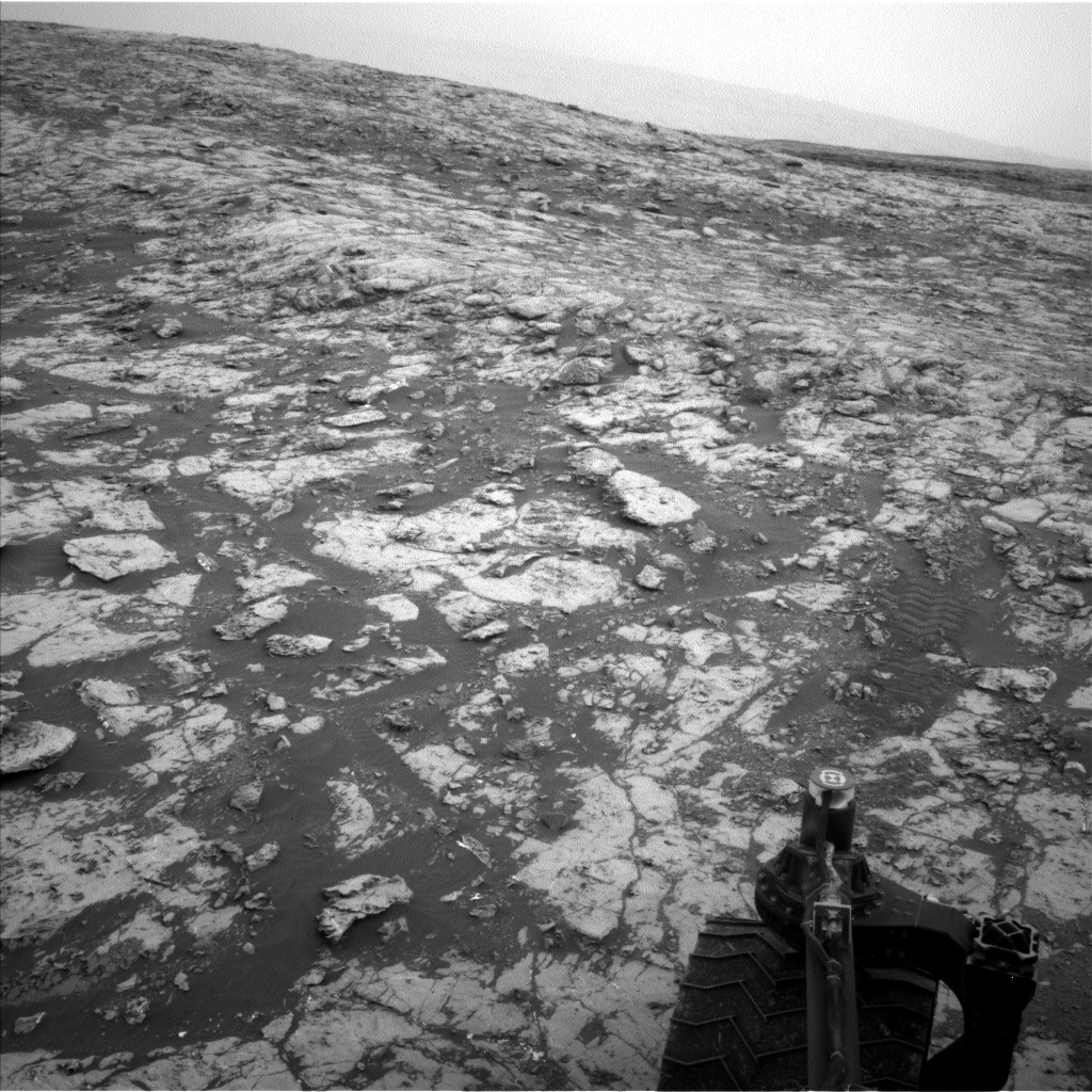 Nasa's Mars rover Curiosity acquired this image using its Left Navigation Camera on Sol 2128, at drive 1286, site number 72