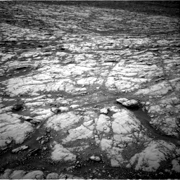 Nasa's Mars rover Curiosity acquired this image using its Right Navigation Camera on Sol 2128, at drive 1076, site number 72
